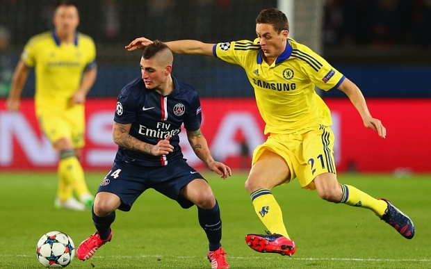 Paris Saint-Germain vs Chelsea