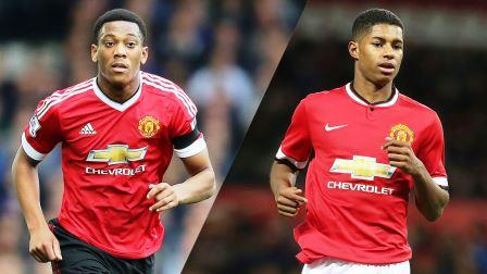 Anthony Martial Marcus Rashford Manchester United, Anthony Martial Marcus Rashford, Manchester United, Anthony Martial, Marcus Rashford Manchester United, Anthony Martial Manchester United, Marcus Rashford , Jose mourinho, Premier League