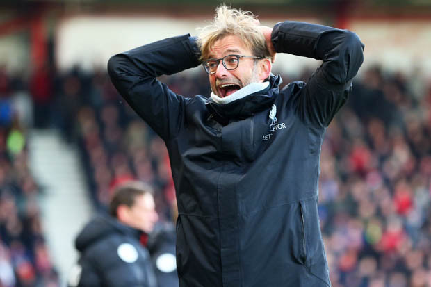 Jurgen Klopp Liverpool, Jurgen Klopp, Liverpool, Liverpool vs Bournemouth, Liverpool vs Bournemouth April 2017, Premier League
