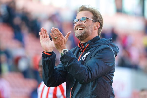 Jurgen Klopp Stoke City Vs Liverpool April 2017, Jurgen Klopp, Stoke City Vs Liverpool April 2017, Jurgen Klopp Liverpool, Stoke City, Liverpool, Premier League