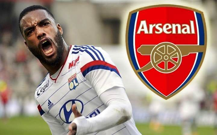 Alexandre Lacazette Olympique Lyonnais to Arsenal, Alexandre Lacazette Olympique Lyonnais, to Arsenal, Alexandre Lacazette, Olympique Lyonnais to Arsenal, Alexandre Lyonnais to Arsenal, Lacazette Olympique Premier League, Liga Inggris