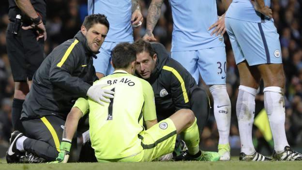 Claudio Bravo manchester City Injured, Claudio Bravo manchester City, Claudio Bravo Injured manchester City, Claudio Bravo end season, Claudio Bravo akhiri musim