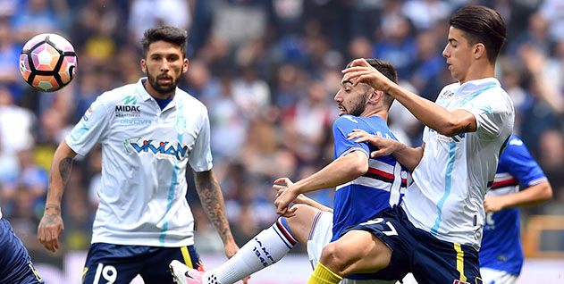 Sampdoria vs Chievo Serie A 2016-17, Sampdoria vs Chievo Serie A, Sampdoria vs Chievo, Serie A, Sampdoria, Chievo, liga italia